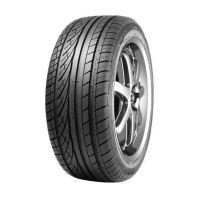Visão frontal do pneu