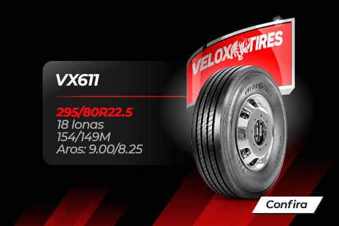 Velox Tires - A força que sua frota precisa!